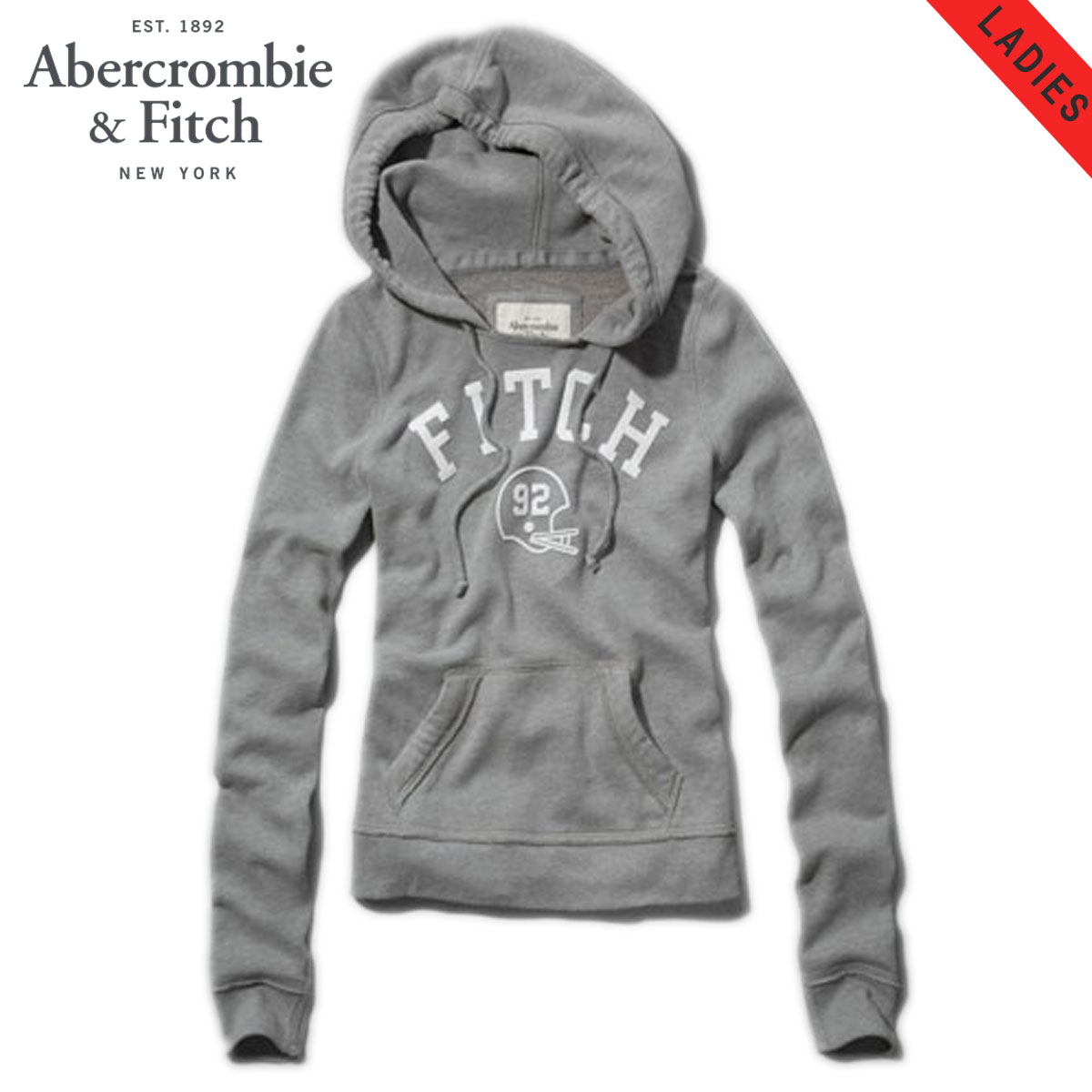 【15%OFFセール 1/19 10:00〜1/22 9:59】 アバクロ Abercrombie&Fitch 正規品 レディース パーカー JANA HOODIE 152-514-0224-012