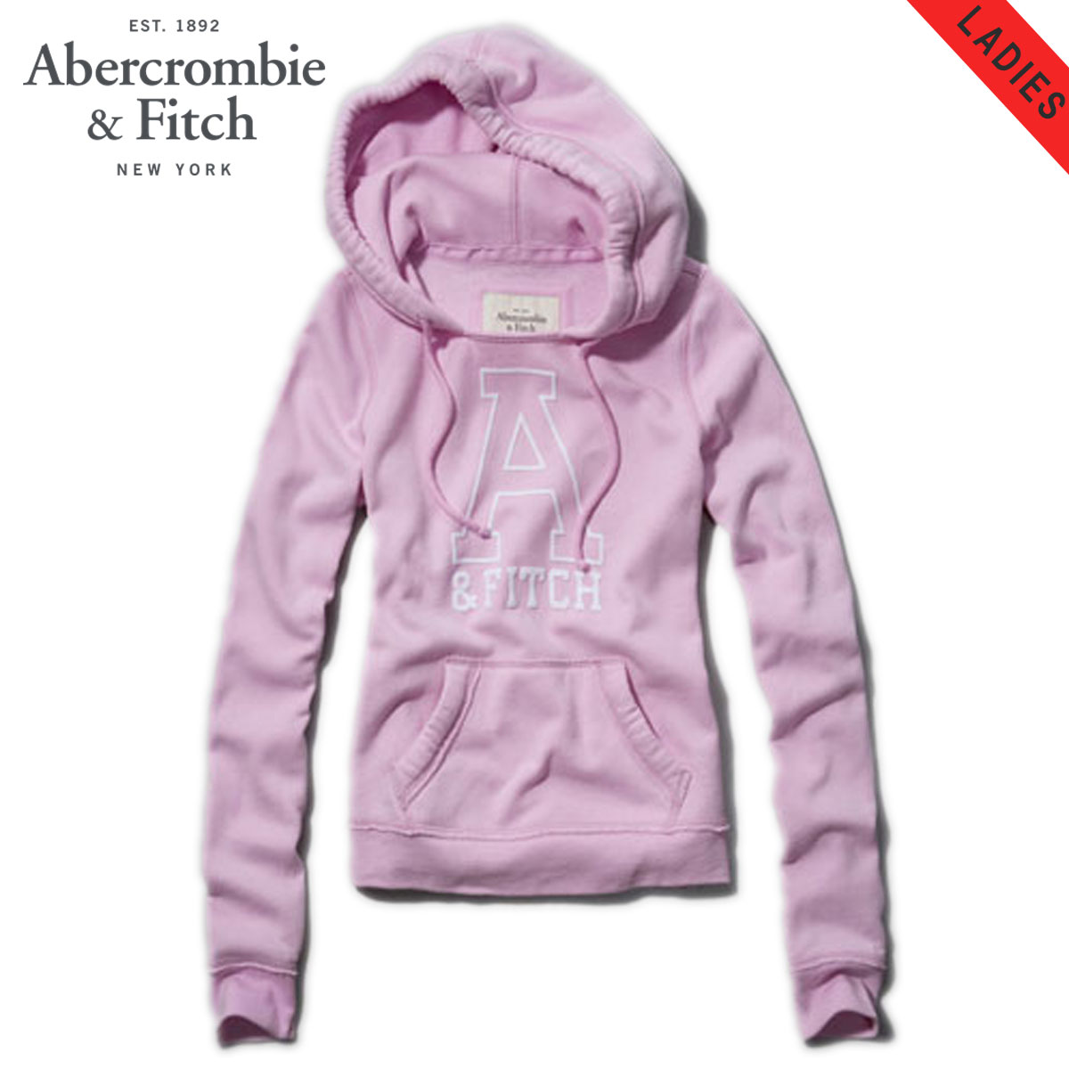 【15%OFFセール 7/27 10:00〜8/1 23:59】 アバクロ Abercrombie&Fitch 正規品 レディース パーカー JANA HOODIE 152-514-0224-029