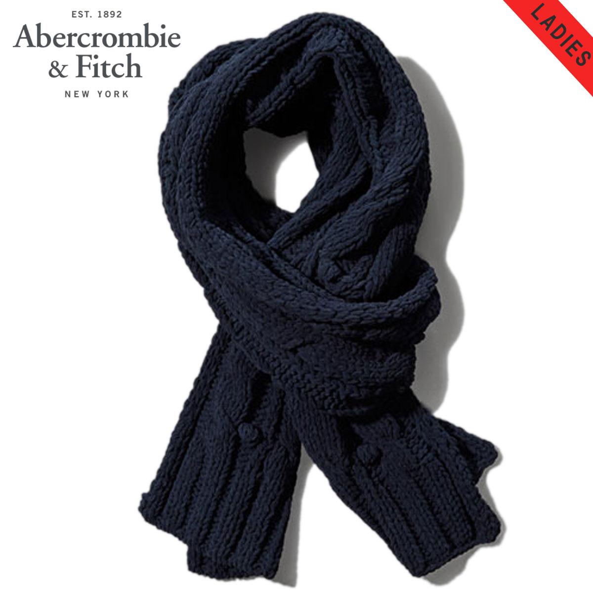【販売期間 1/18 10:00〜1/22 9:59】 アバクロ Abercrombie&Fitch 正規品 スカーフ Cable Knit Winter Scarf 154-540-0313-023