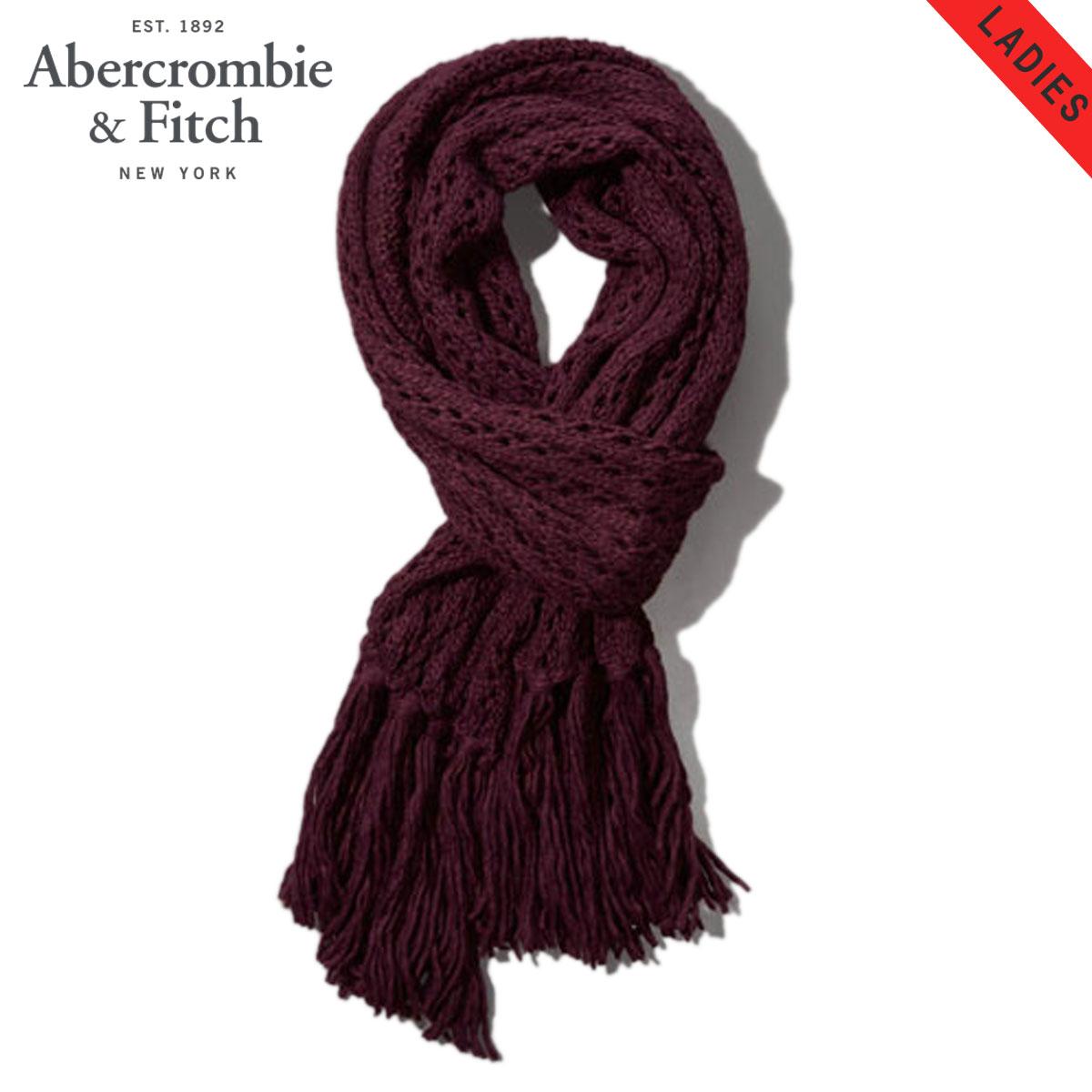 【販売期間 10/18 10:00〜10/26 1:59】 アバクロ Abercrombie&Fitch 正規品 スカーフ Cozy Knit Scarf 165-710-0307-054 D15S25