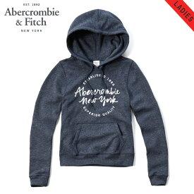 アバクロ パーカー レディース 正規品 Abercrombie&Fitch プルオーバーパーカー LOGO GRAPHIC HOODIE 152-514