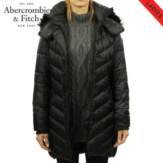 4c98661926f Categories. « All Categories · Women's Clothing · Outers · ABBA black  Abercrombie & Fitch regular article Lady's outer QUILTED NYLON PARKA ...