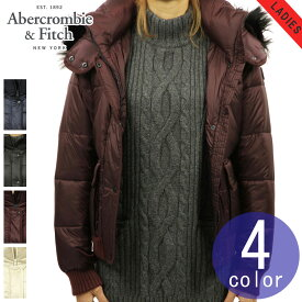 アバクロ Abercrombie&Fitch 正規品 レディース ファー付きパフジャケット PUFFER JACKET