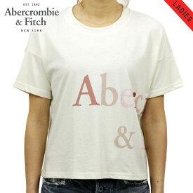 【ポイント10倍 8/2 20:00〜8/9 01:59まで】 アバクロ Tシャツ 正規品 Abercrombie&Fitch 半袖Tシャツ クルーネック Exploded Logo Tee 157-576-0124-101