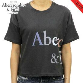 アバクロ Tシャツ 正規品 Abercrombie&Fitch 半袖Tシャツ クルーネック Exploded Logo Tee 157-576-0124-901