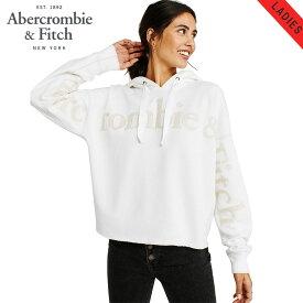 アバクロ パーカー レディース 正規品 Abercrombie&Fitch プルオーバーパーカー ロゴ Exploded Logo Hoodie 152-524-0106-101
