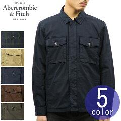 アバクロAbercrombie&Fitch正規品メンズシャツジャケットZIP-UPSHIRTJACKET