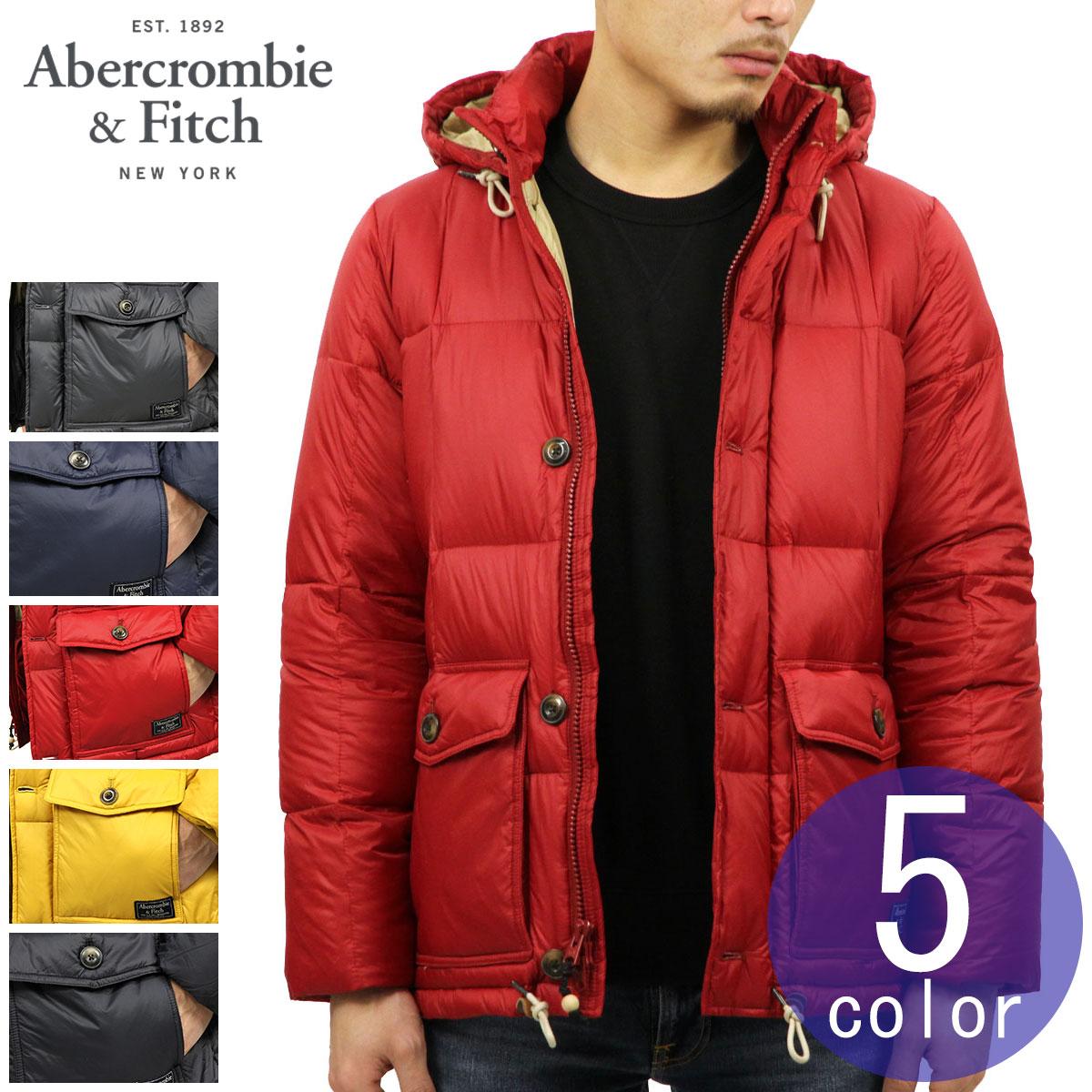 アバクロ Abercrombie&Fitch 正規品 メンズ アウター フード付き ダウンジャケット DOWN-FILLED PUFFER COAT