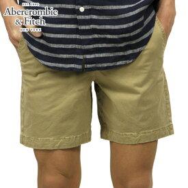 アバクロ ショートパンツ メンズ 正規品 Abercrombie&Fitch ハーフパンツ ボトムス PLAINFRONT MID-LENGTH SHORTS Inseam7 128-283-0759-475