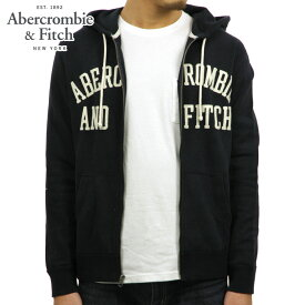 15%OFFセール 【販売期間 12/4 20:00〜12/11 01:59】 アバクロ パーカー メンズ 正規品 Abercrombie&Fitch ジップアップパーカー GRAPHIC FULL-ZIP HOODIE 122-243-0014-200
