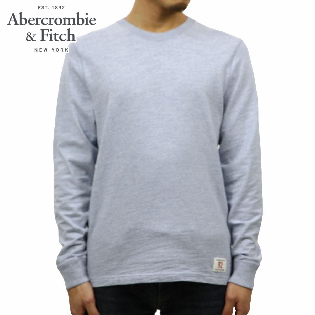アバクロ Abercrombie&Fitch 正規品 メンズ クルーネック 長袖Tシャツ LONG-SLEEVE CREW TEE 124-228-0236-220