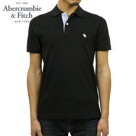 アバクロ ポロシャツ 正規品 Abercrombie&Fitch 半袖ポロシャツ ストレッチ ワンポイントロゴ STRETCH ICON POLO 124-227-0762-900