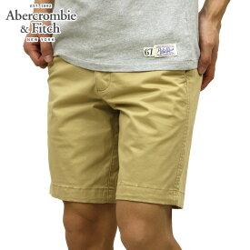 アバクロ ショートパンツ メンズ 正規品 Abercrombie&Fitch ボトムス ハーフパンツ PLAINFRONT SHORTS 9 INSEAM LONG-LENGTH 128-283-0834-475