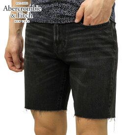 アバクロ ショートパンツ メンズ 正規品 Abercrombie&Fitch ボトムス ハーフパンツ デニムパンツ BLACK DENIM SHORTS 128-283-0822-975