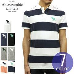アバクロAbercrombie&Fitch正規品メンズストレッチワンポイントロゴ半袖ポロシャツEXPLODEDICONSTRETCHPOLO