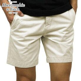 アバクロ ショートパンツ メンズ 正規品 Abercrombie&Fitch ボトムス A&F CLASSIC FIT SHORTS BEIGE D20