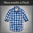 アバクロ Abercrombie&Fitch 正規品 メンズ 長袖シャツ Iroquois Mountain Shirt 125-168-1315-026