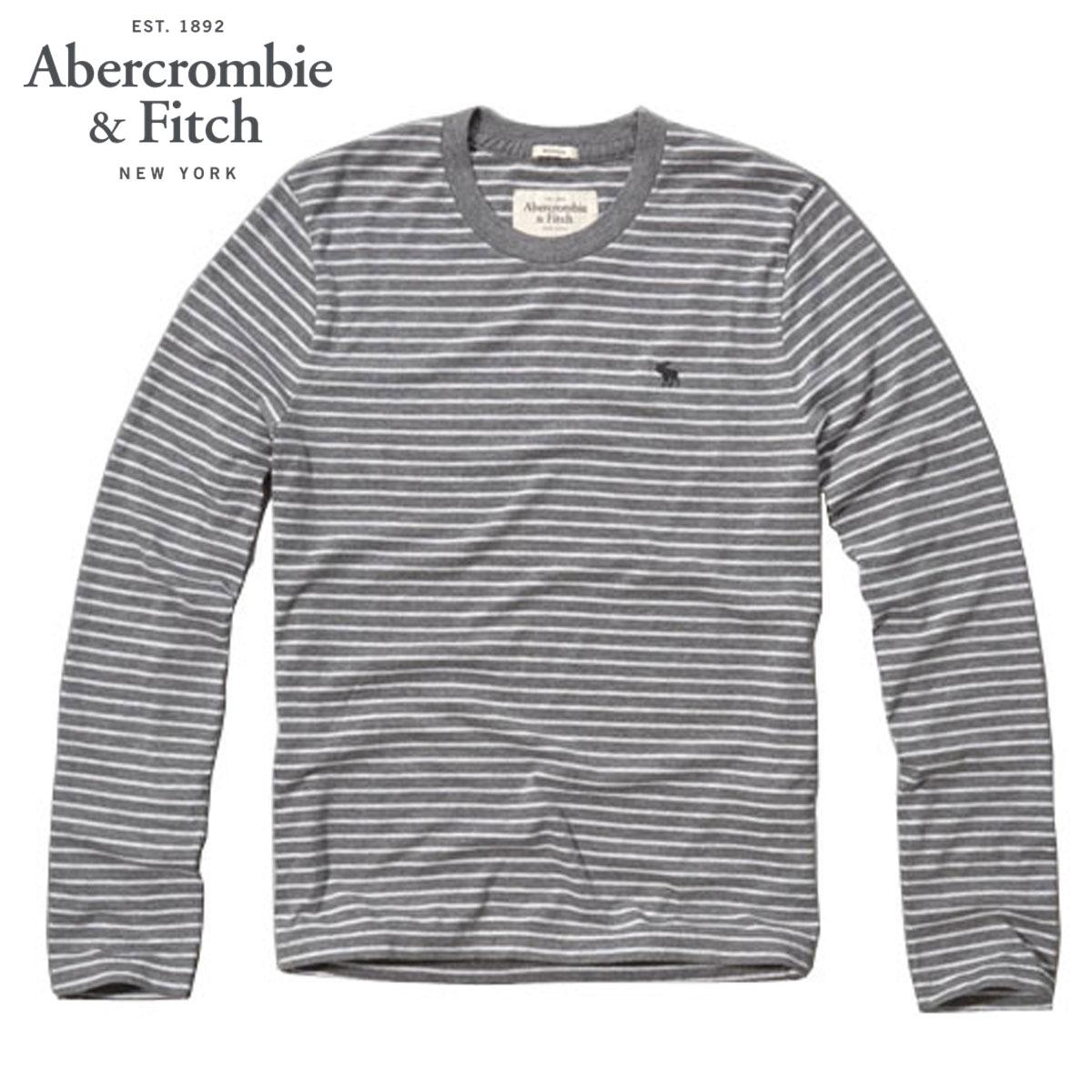 アバクロ Abercrombie&Fitch 正規品 メンズ 長袖Tシャツ Panther Gorge Tee 124-236-0648-015 D20S30