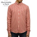 6bc041e9ee Abercrombie  amp amp  Fitch Abercrombie  amp Fitch AE men s long sleeve  shirt Gingham Herringbone Button-Up Shirt 125-168-2370-508
