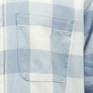 アバクロAbercrombie&Fitch正規品メンズワークシャツBLEACHWASHTWILLSHIRT125-168-2755-218