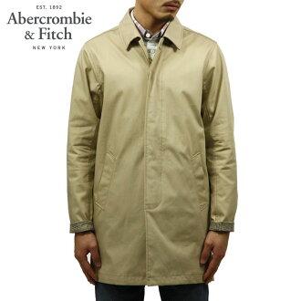 abakuro Abercrombie&Fitch正规的物品人外衣双排扣有腰带的短外衣BONDED MAC JACKET 132-328-1057-475