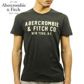 アバクロ Tシャツ 正規品 Abercrombie&Fitch 半袖Tシャツ APPLIQUE GRAPHIC TEE 123-238-2178-130
