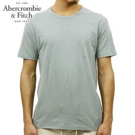 アバクロ Tシャツ 正規品 Abercrombie&Fitch 半袖Tシャツ LINEN-BLEND TEE 124-236-1778-300