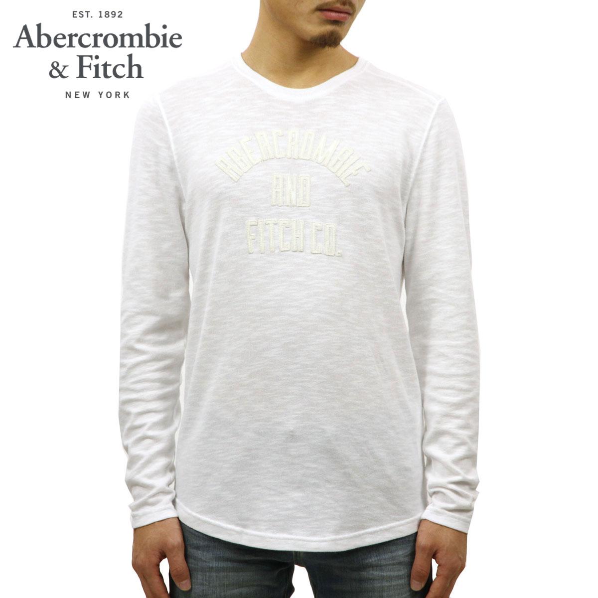 アバクロ Abercrombie&Fitch 正規品 メンズ 長袖Tシャツ LONG SLEEVE GRAPHIC TEE 123-238-2174-102