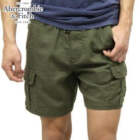 アバクロ ショートパンツ メンズ 正規品 Abercrombie&Fitch ボトムス PULL-ON CARGO SHORTS 128-283-0698-330