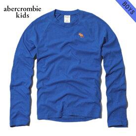 アバクロキッズ Tシャツ ロンT ボーイズ 子供服 正規品 AbercrombieKids 長袖Tシャツ crew long sleeve tee 224-663-0338-026 D20S30