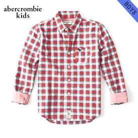 アバクロキッズ シャツ ボーイズ 子供服 正規品 AbercrombieKids 長袖シャツ long sleeve poplin shirt 225-680-0747-050 父の日 ギフト ラッピング