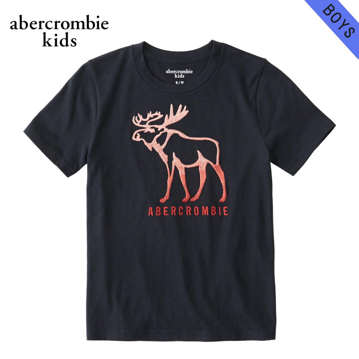アバクロキッズ AbercrombieKids 正規品 子供服 ボーイズ 半袖Tシャツ logo graphic tee 223-616-0114-023