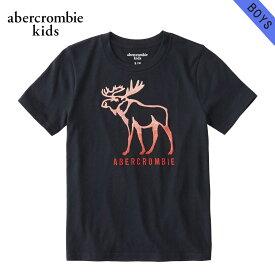 アバクロキッズ Tシャツ 子供服 正規品 AbercrombieKids 半袖Tシャツ logo graphic tee 223-616-0114-023
