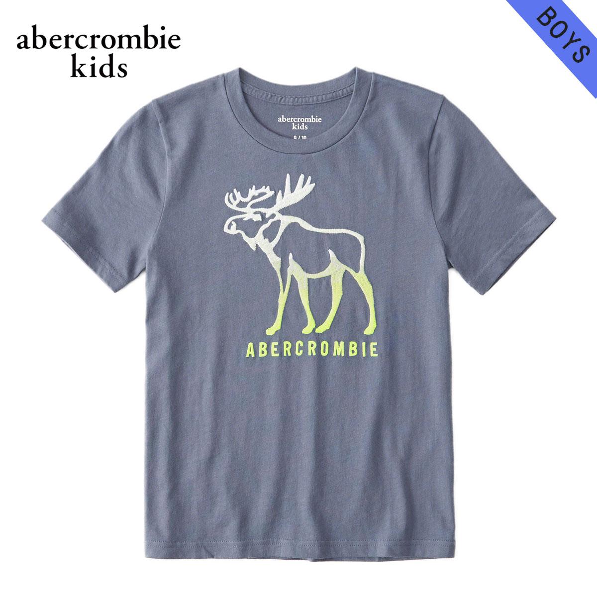 アバクロキッズ AbercrombieKids 正規品 子供服 ボーイズ 半袖Tシャツ logo graphic tee 223-616-0114-024