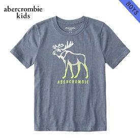 アバクロキッズ Tシャツ 子供服 正規品 AbercrombieKids 半袖Tシャツ logo graphic tee 223-616-0114-024