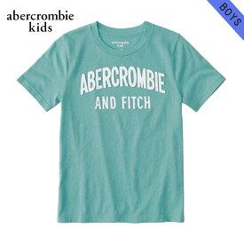 アバクロキッズ Tシャツ 子供服 正規品 AbercrombieKids 半袖Tシャツ logo graphic tee 223-616-0114-030