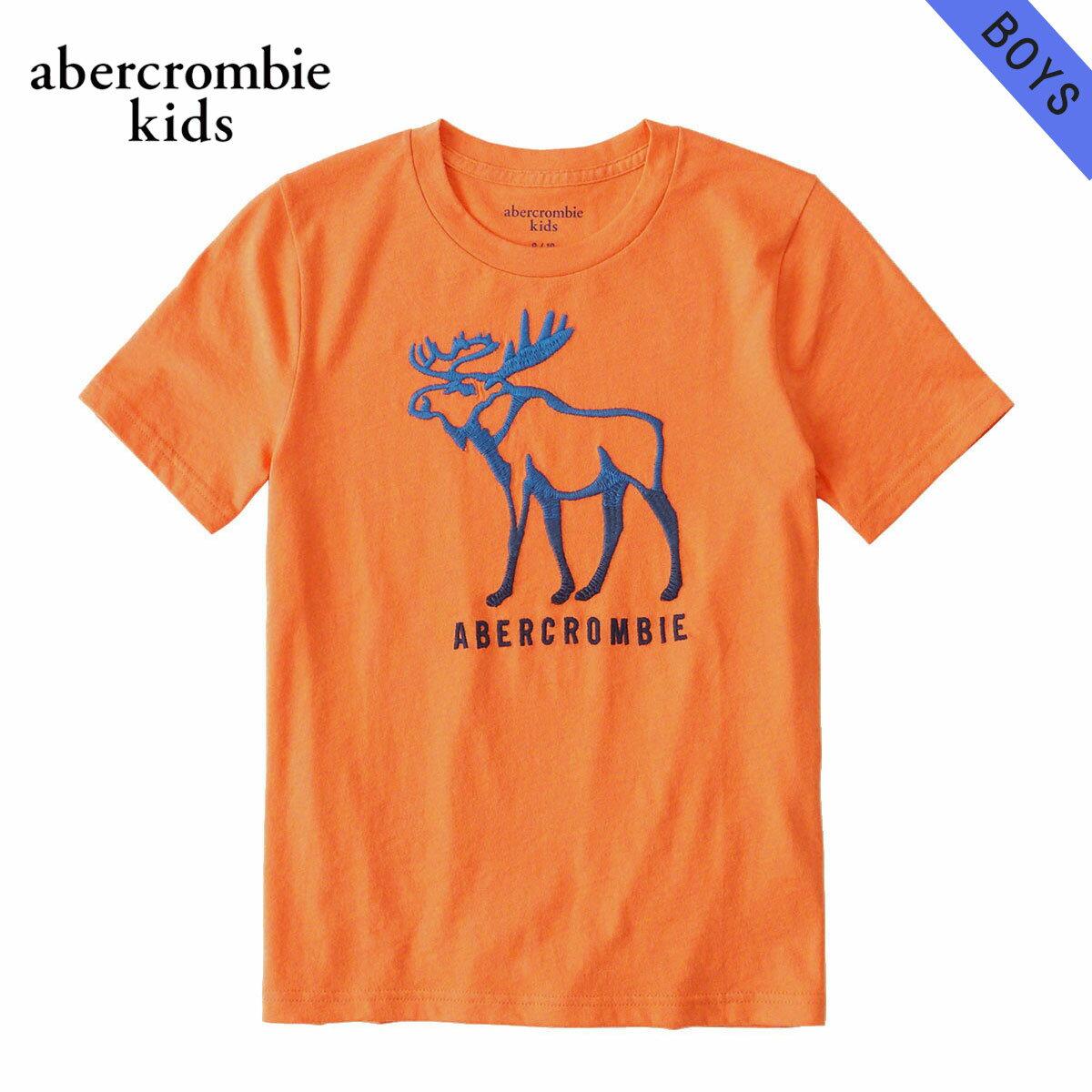 アバクロキッズ AbercrombieKids 正規品 子供服 ボーイズ 半袖Tシャツ logo graphic tee 223-616-0114-070