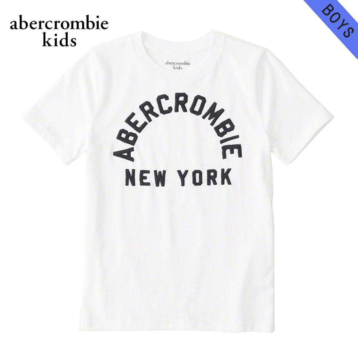 アバクロキッズ AbercrombieKids 正規品 子供服 ボーイズ 半袖Tシャツ logo graphic tee 223-616-0121-001