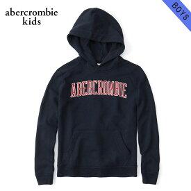 アバクロキッズ パーカー ボーイズ 子供服 正規品 AbercrombieKids プルオーバーパーカー ロゴ embroidered logo hoodie 222-8401-0248-023 父の日 ギフト ラッピング