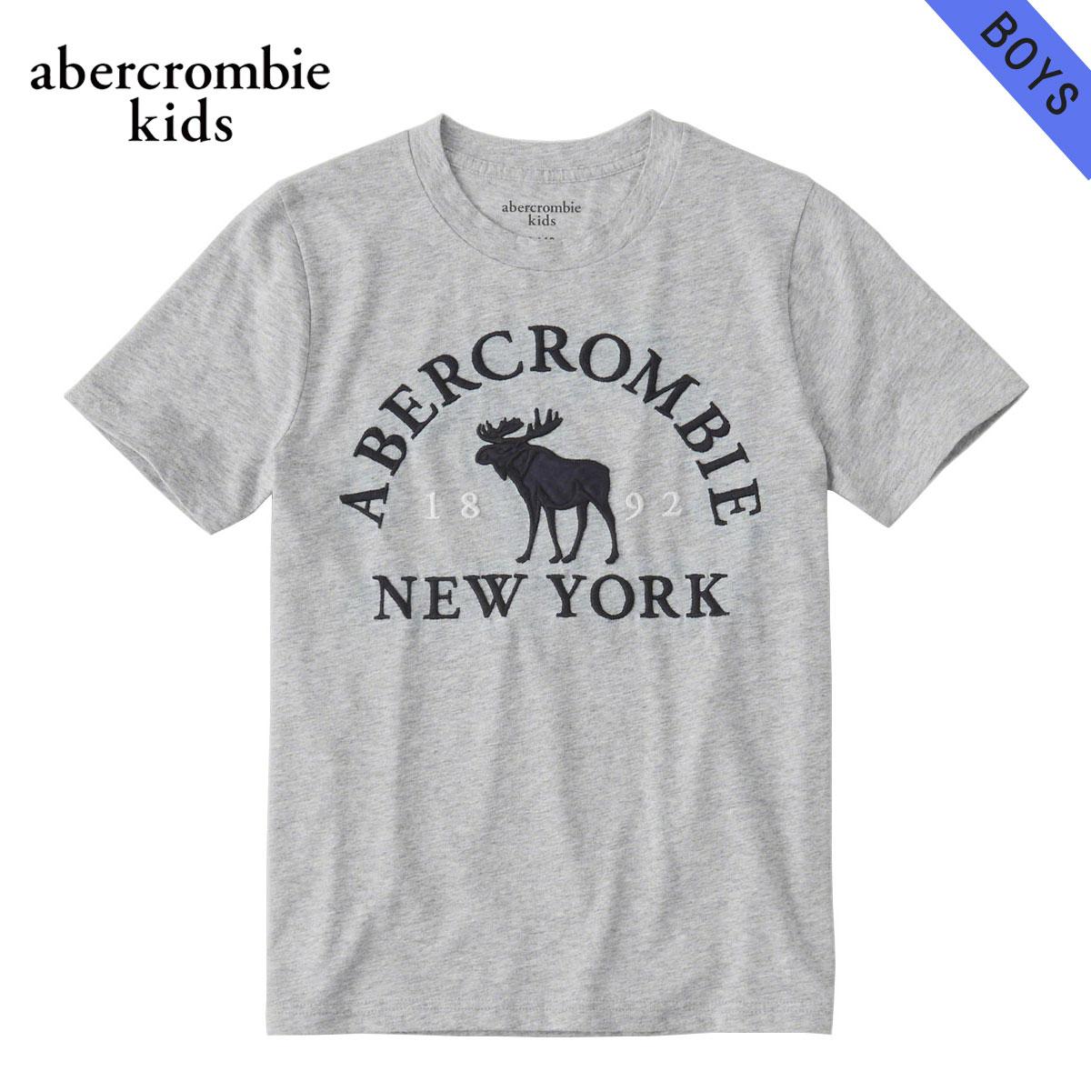 アバクロキッズ AbercrombieKids 正規品 子供服 ボーイズ 半袖ロゴTシャツ logo graphic tee 223-616-0086-011