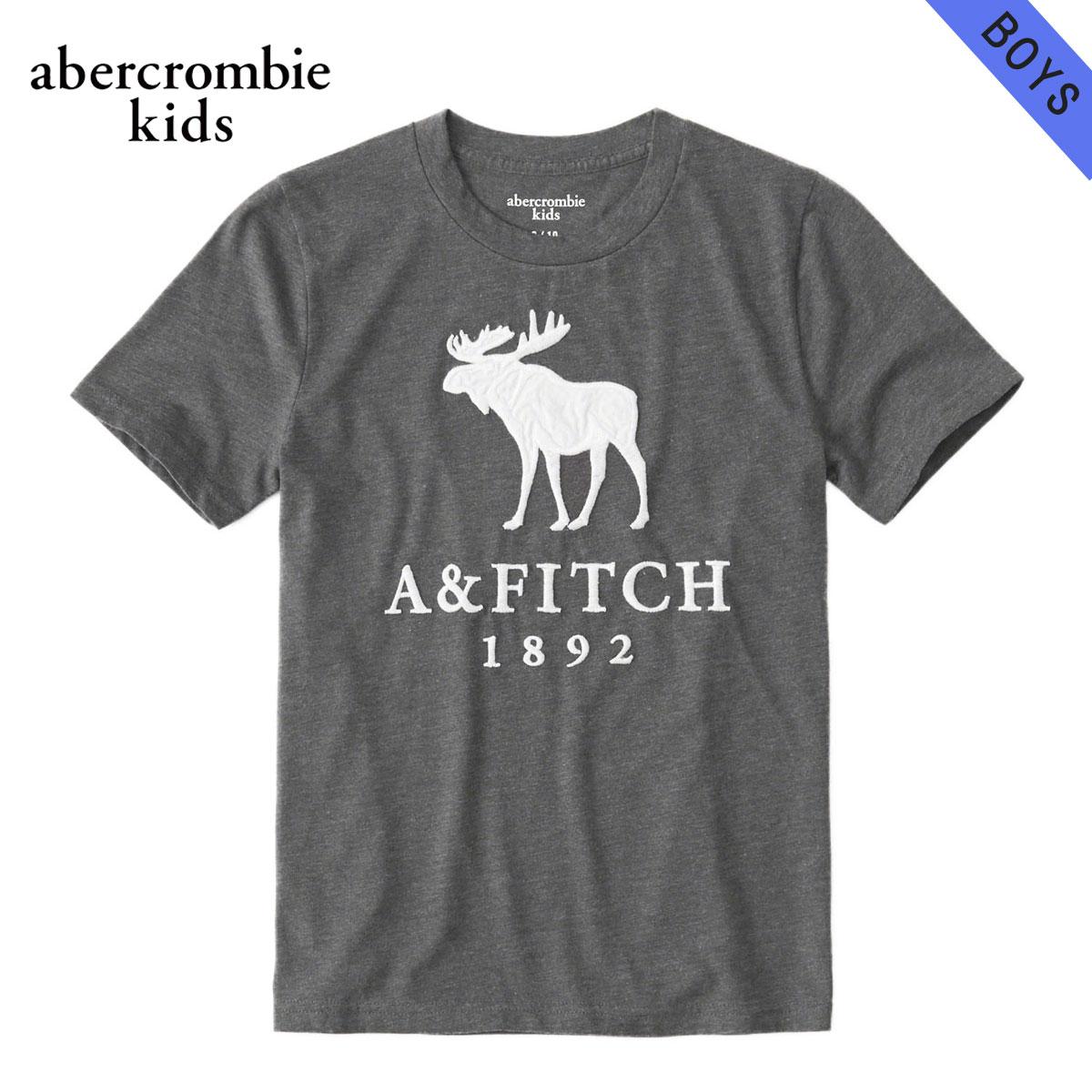 アバクロキッズ AbercrombieKids 正規品 子供服 ボーイズ 半袖ロゴTシャツ logo graphic tee 223-616-0086-013