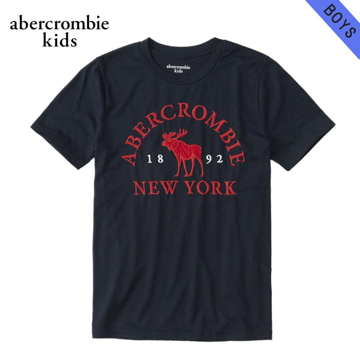 アバクロキッズ AbercrombieKids 正規品 子供服 ボーイズ 半袖ロゴTシャツ logo graphic tee 223-616-0086-023