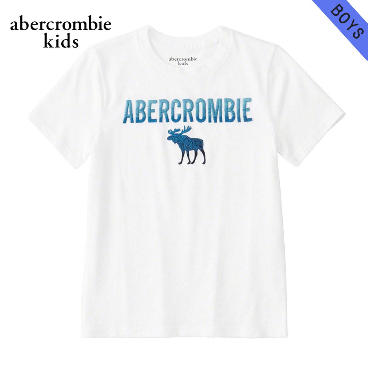 アバクロキッズ AbercrombieKids 正規品 子供服 ボーイズ 半袖Tシャツ logo graphic tee 223-616-0138-001