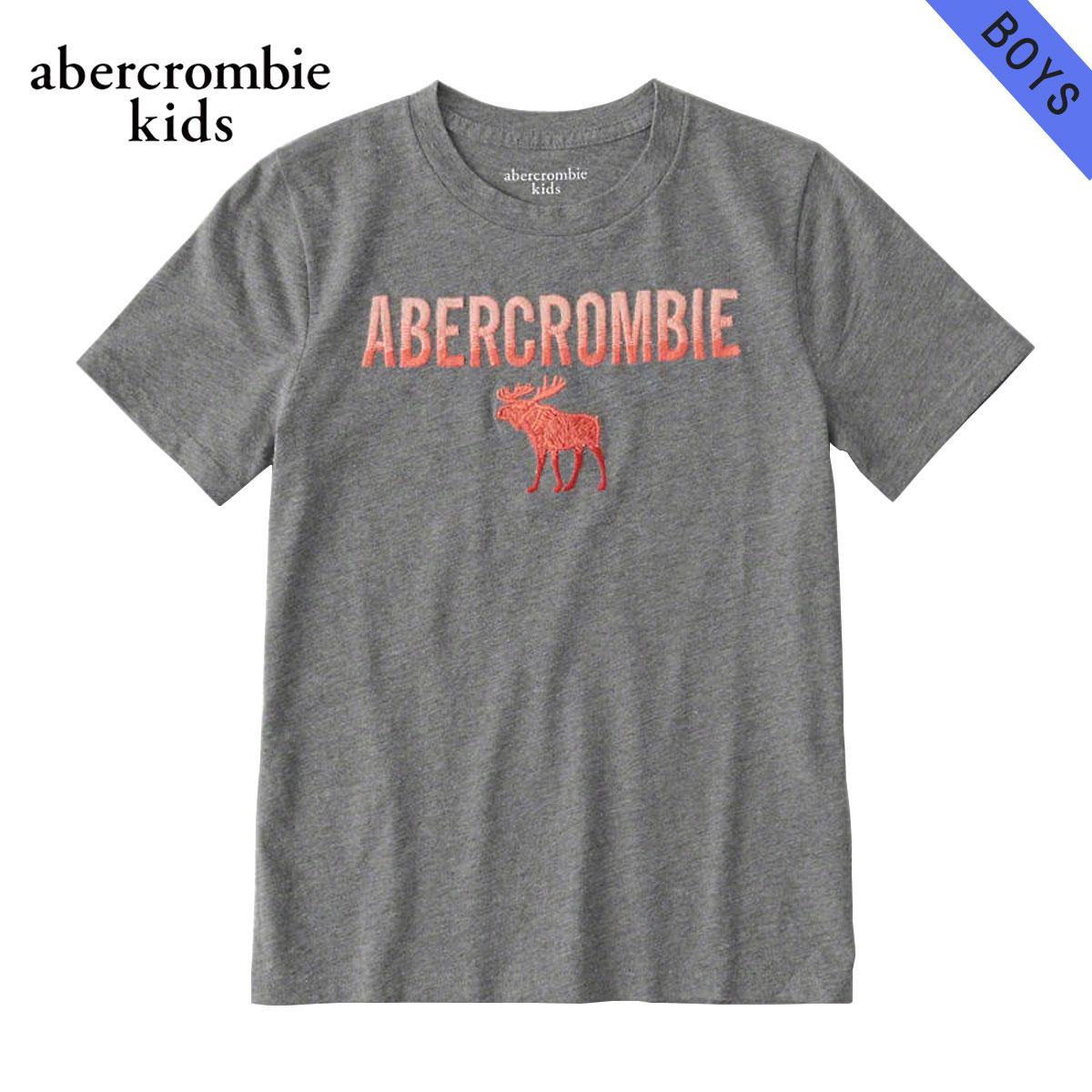 アバクロキッズ AbercrombieKids 正規品 子供服 ボーイズ 半袖Tシャツ logo graphic tee 223-616-0138-013