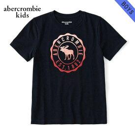 アバクロキッズ Tシャツ 子供服 正規品 AbercrombieKids 半袖Tシャツ logo graphic tee 223-616-0138-023 買いまわり