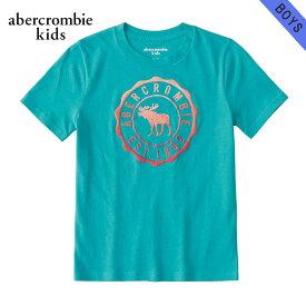 アバクロキッズ Tシャツ 子供服 正規品 AbercrombieKids 半袖Tシャツ logo graphic tee 223-616-0138-030
