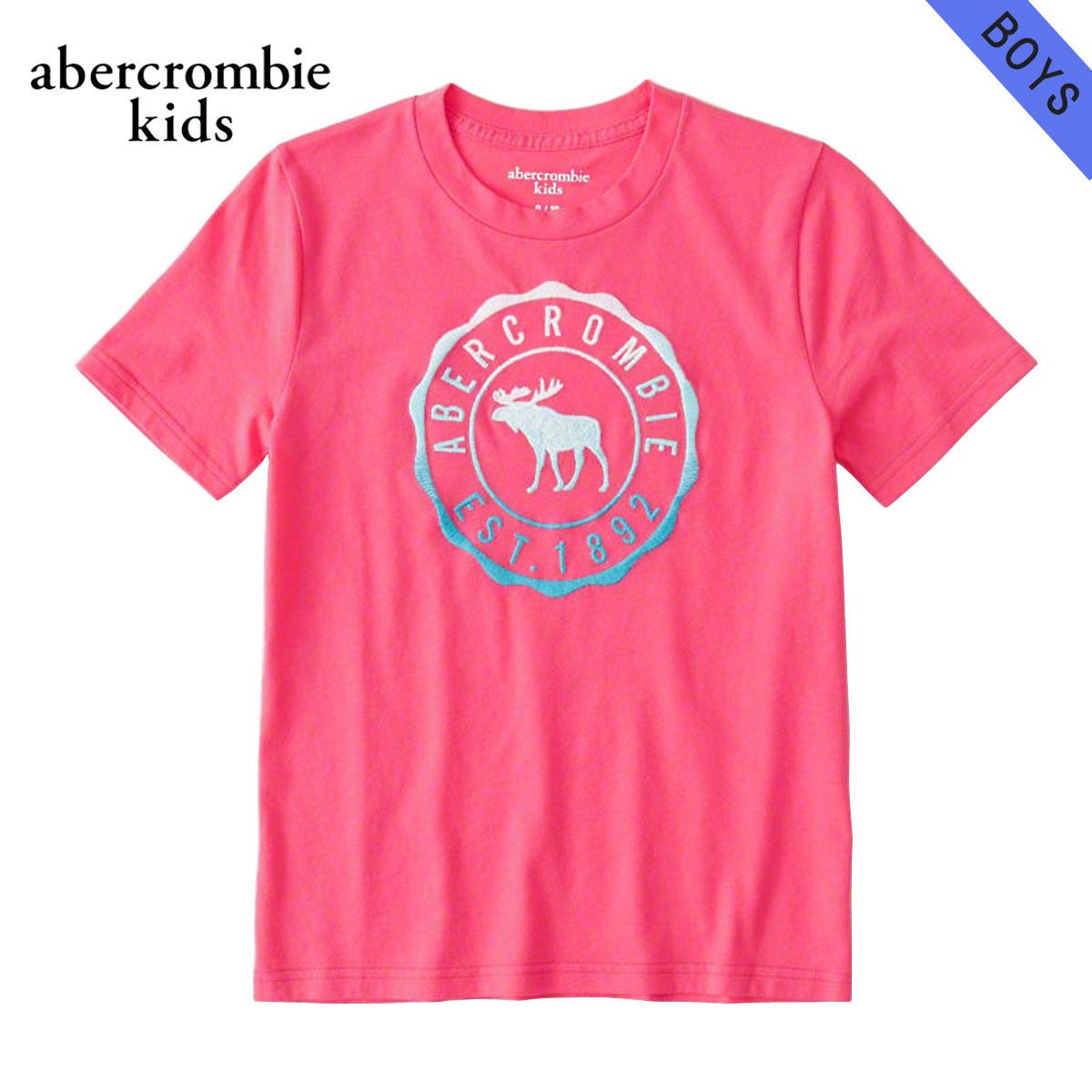 アバクロキッズ AbercrombieKids 正規品 子供服 ボーイズ 半袖Tシャツ logo graphic tee 223-616-0138-061