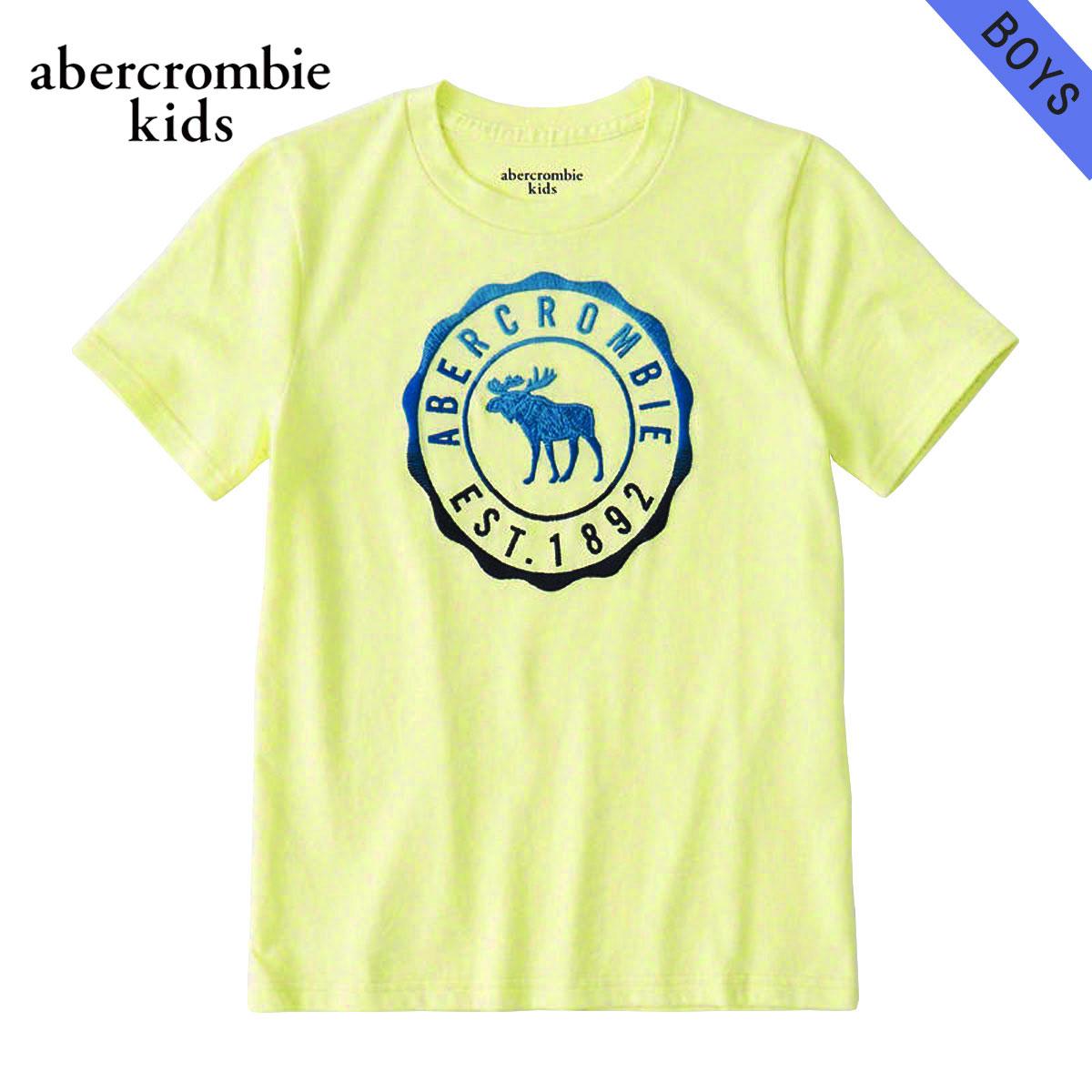 アバクロキッズ AbercrombieKids 正規品 子供服 ボーイズ 半袖Tシャツ logo graphic tee 223-616-0138-080