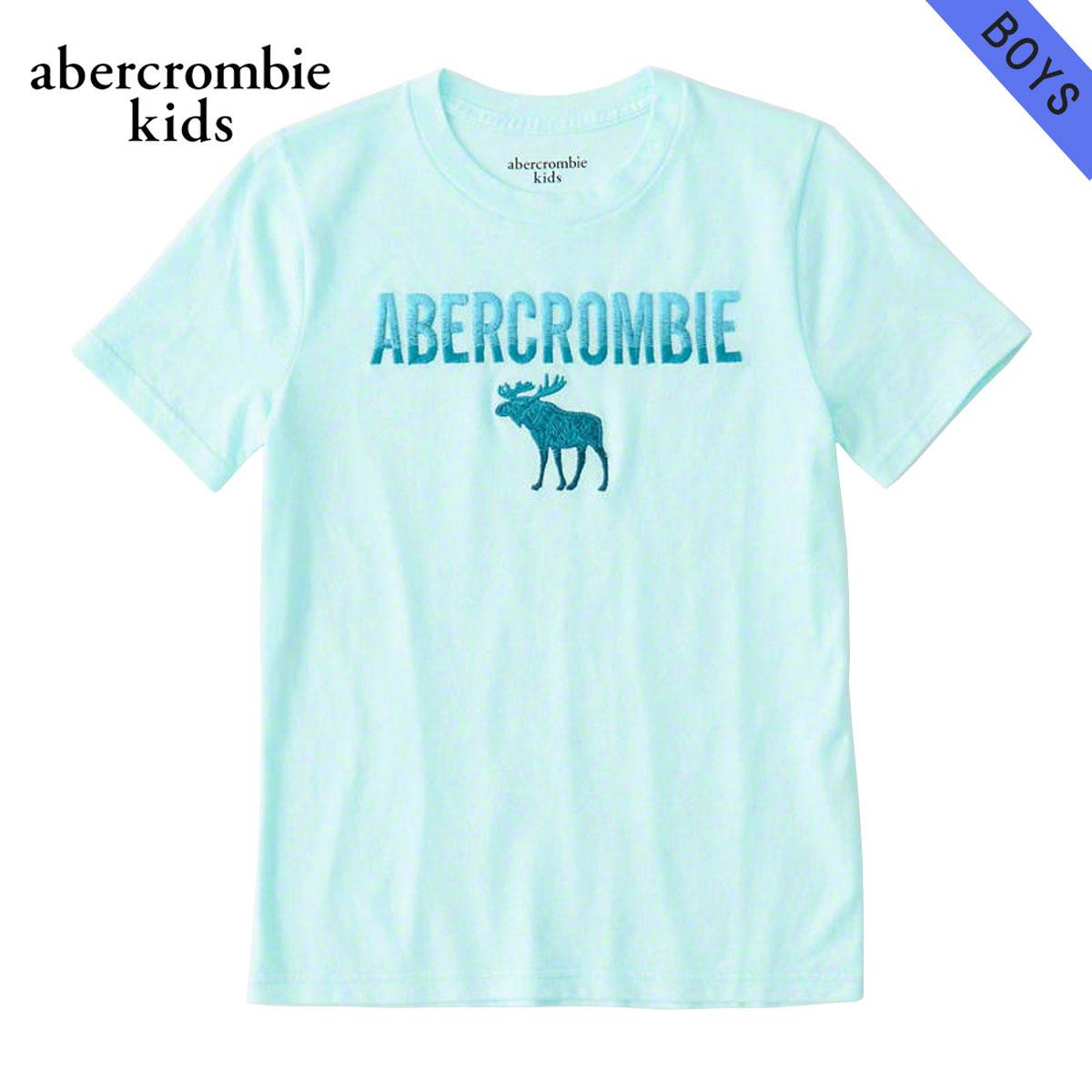 アバクロキッズ AbercrombieKids 正規品 子供服 ボーイズ 半袖Tシャツ logo graphic tee 223-616-0138-026