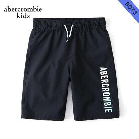 アバクロキッズ 水着 ボーイズ 子供服 正規品 AbercrombieKids スイムパンツ logo boardshorts 233-691-0181-023 父の日 ギフト ラッピング